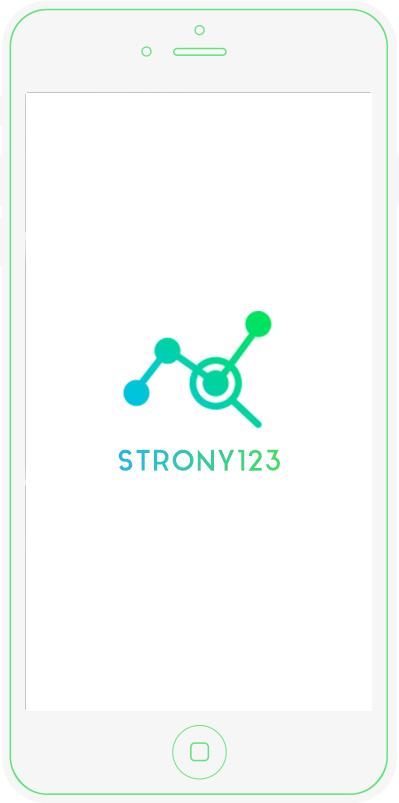 Strony123 on mobile